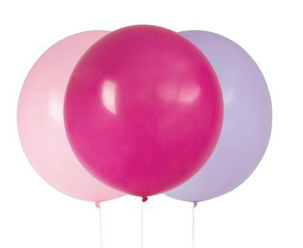 Große Ballons Rosa-Lila