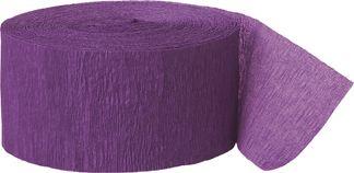 Krepp-Luftschlange – violett