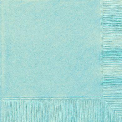 Papierservietten minzefarbig