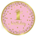 Rosiger 1. Geburtstag
