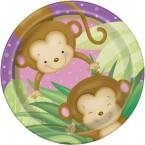 Baby-Mädchen Affe