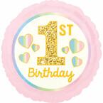 Ballons zum 1. Geburtstag