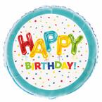 Folienballons zum Geburtstag