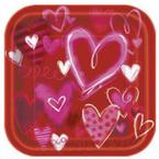 Valentinstag-Partygeschirr