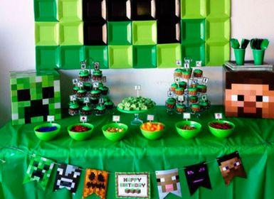 Minecraft Pixel-Party