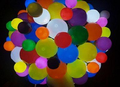 Leuchtende LED Luftballons PARTYSPIRIT.AT