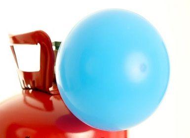 Wie viele Ballons füllt ein Helium-Tank?