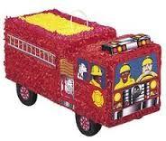 Pinata Feuerwehrfahrzeuge